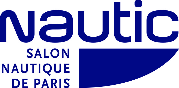 logo Nautic bleu quadri